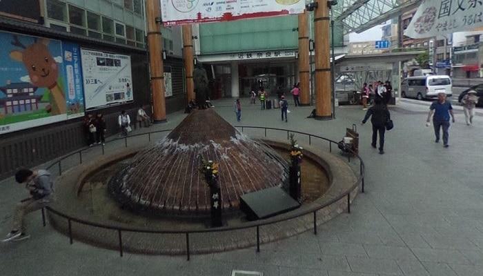行基菩薩の噴水
