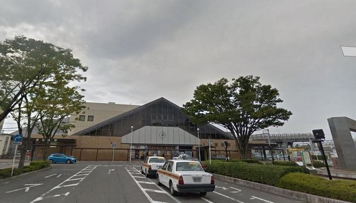 新前橋駅ロータリー