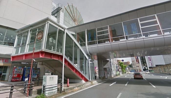 秋田駅西側入口